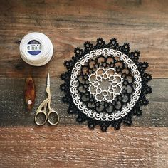This is one of the first doilies I made, before I started to design my own patterns!
