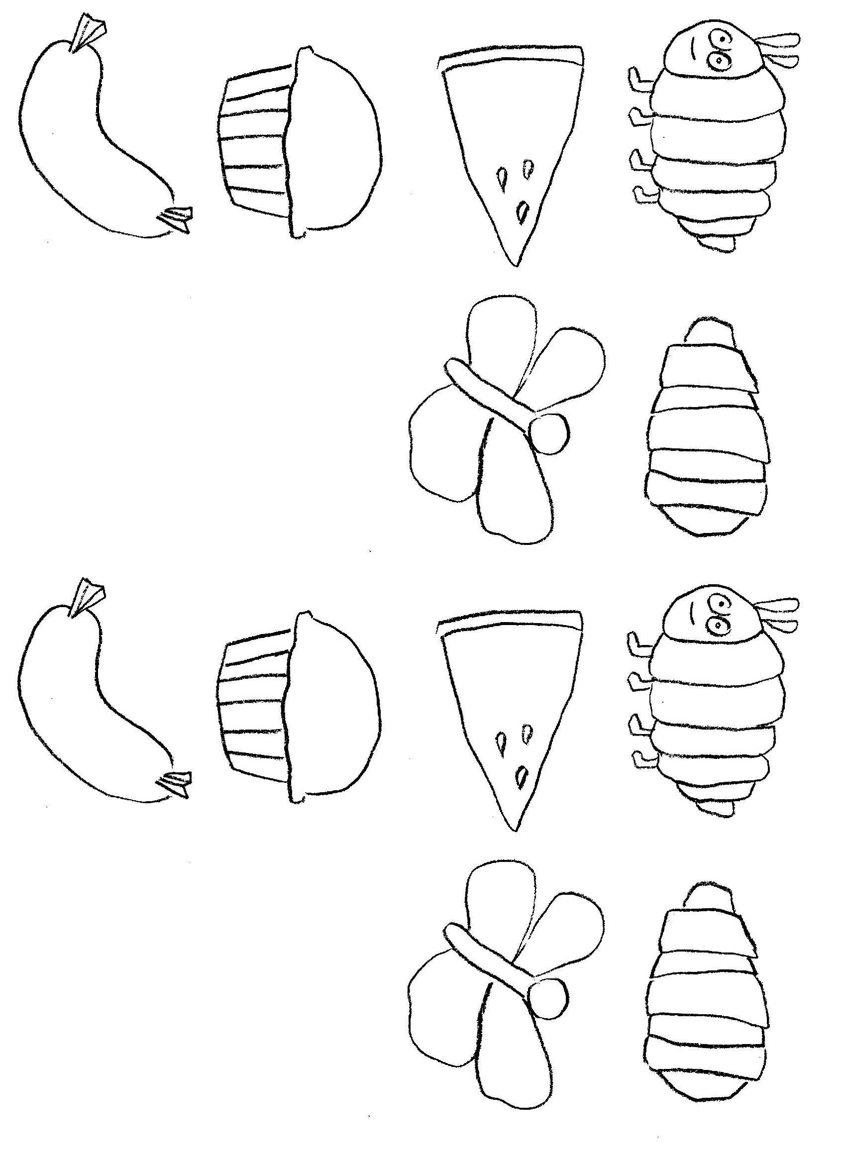 The Very Hungry Caterpillar With Images