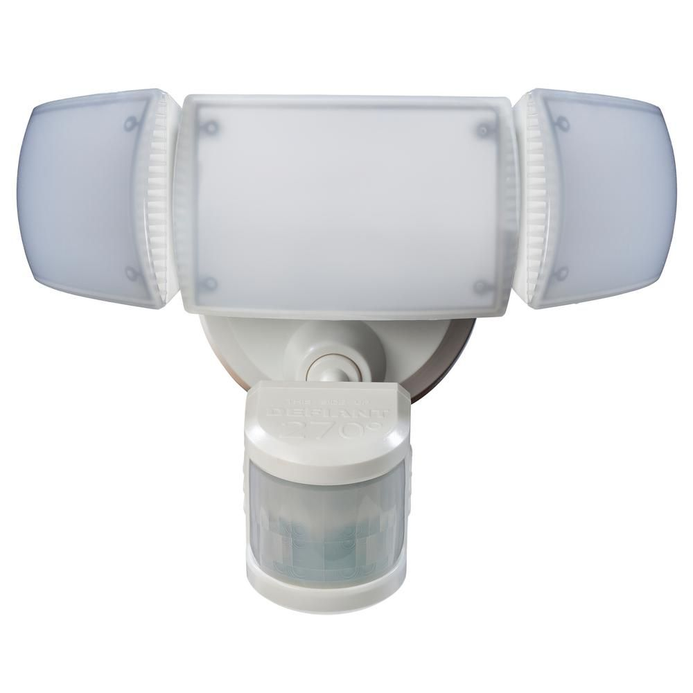 Defiant 270 Degree White Motion Activated Outdoor Integrated Led