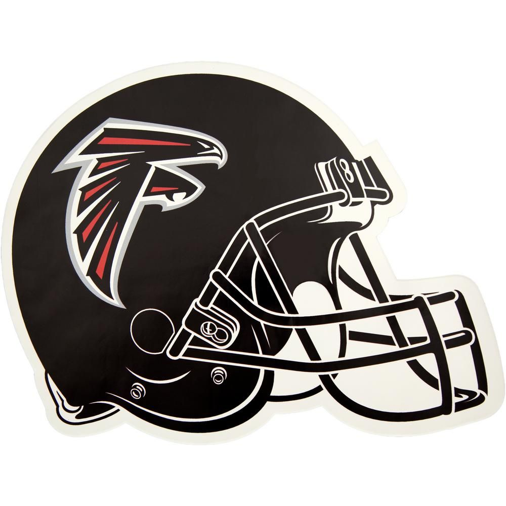 Applied Icon Nfl Atlanta Falcons Outdoor Helmet Graphic Large Black Atlanta Falcons Helmet Nfl Football Helmets Football Helmets