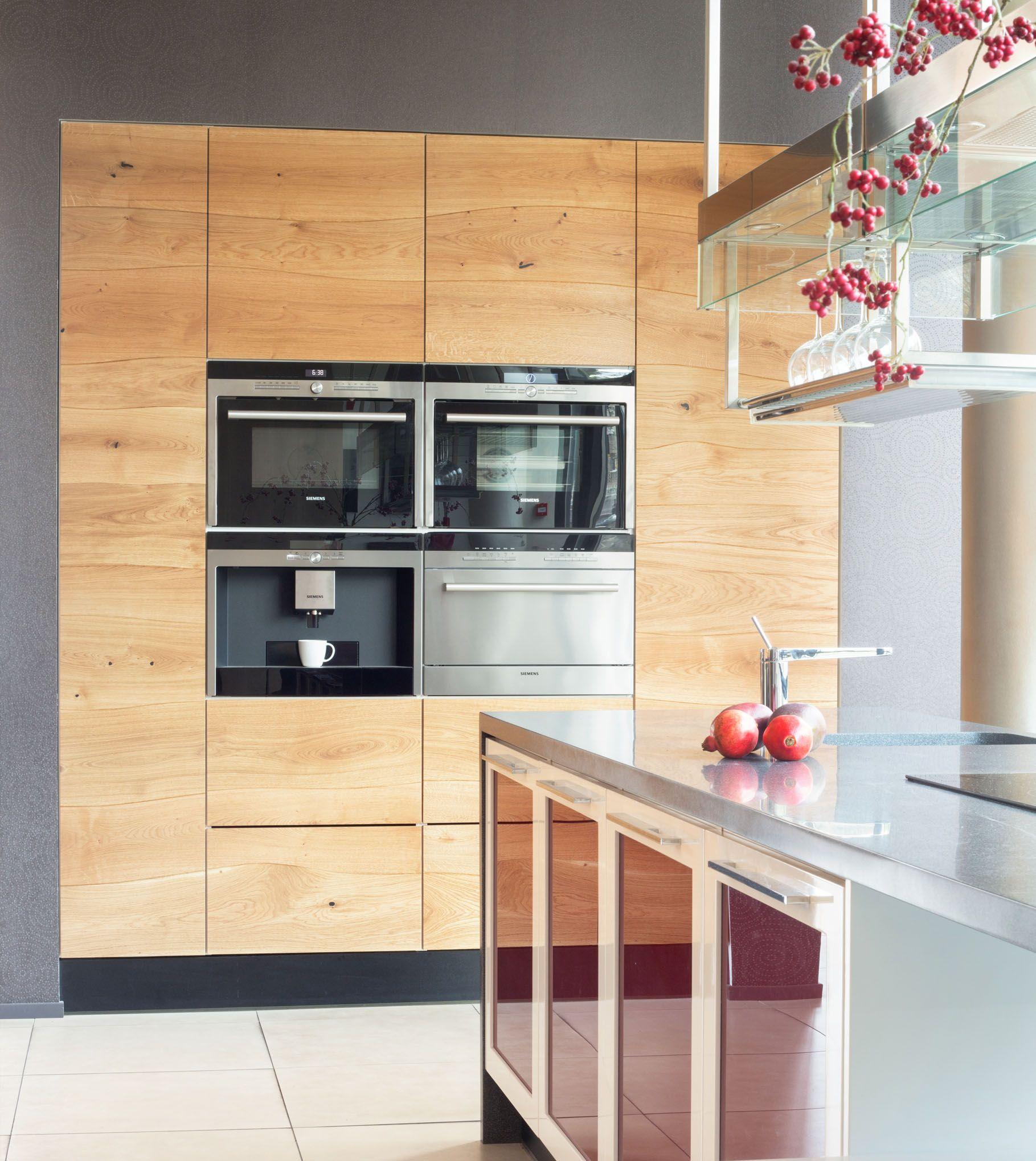 Curved Bolefloor Wooden Floorboards In Kitchen Interior Wooden Kitchen Modern Wooden Kitchen Kitchen Interior