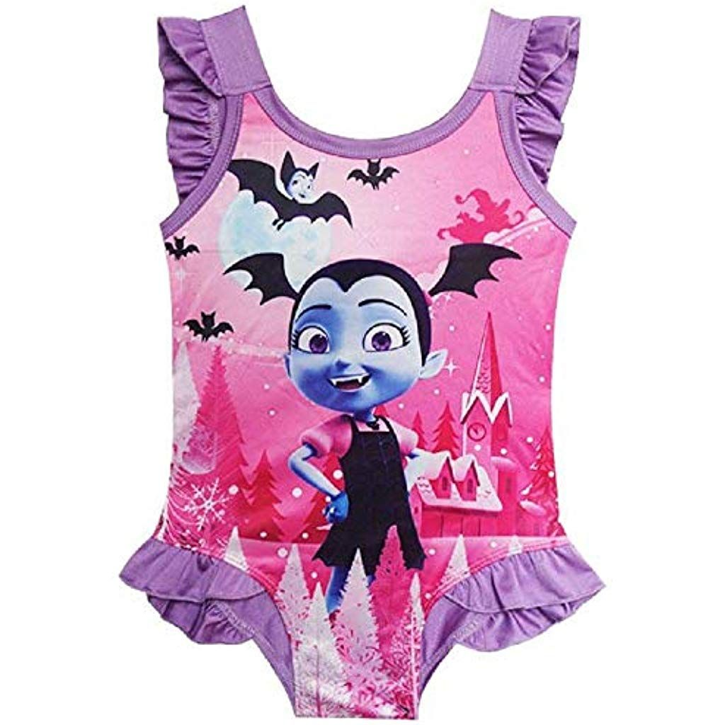 Ragazze ufficiali Disney Vampirina Pigiama Pigiama Pjs Kids per bambini 3 4 5 6 8
