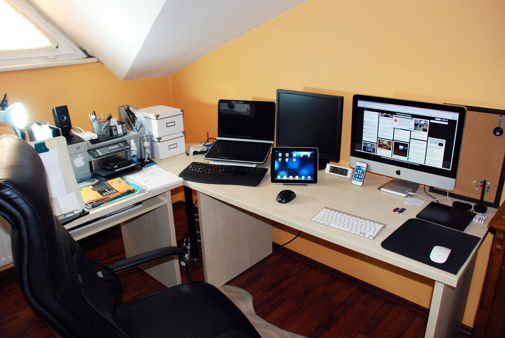 Http://www.inmagz.com Classically Designer Home Office