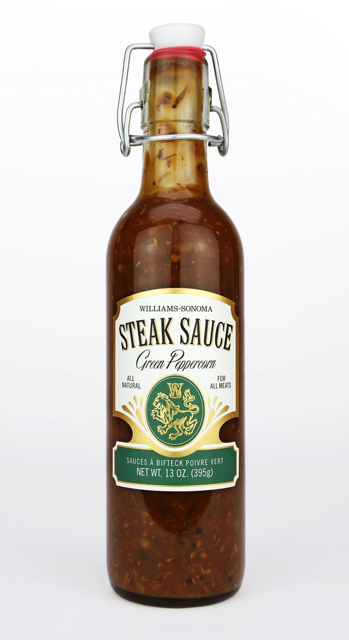 Williams Sonoma Summer 2012 Steak Sauce Food Packaging Packaged Food