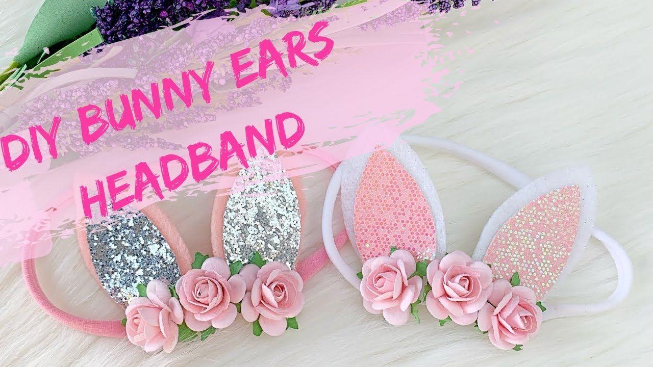 Spring Headband Baby Easter Headband Baby Headband Bunny Headband Easter Headband Newborn Headband Easter Baby Headband Easter Bunny