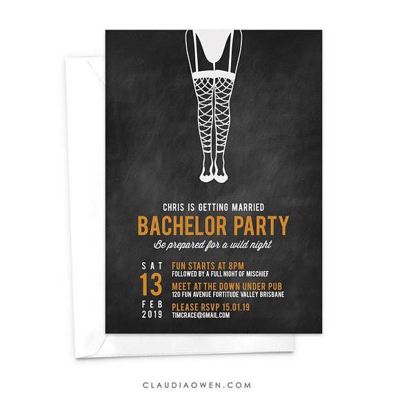 Gay birthday party invitations