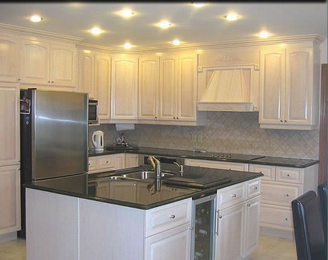 painted oak kitchen cabinets before and after - Google Search