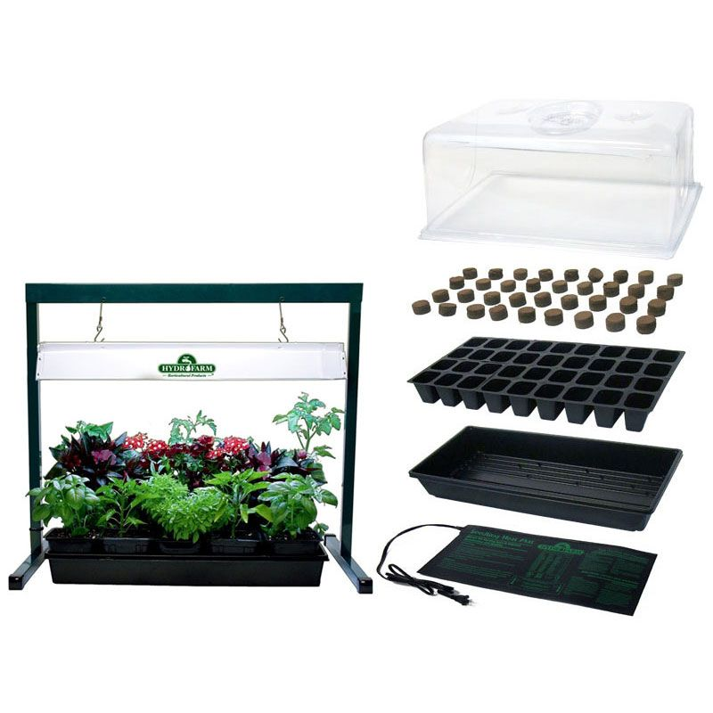 Indoor seed starter plus with jump start grow light system