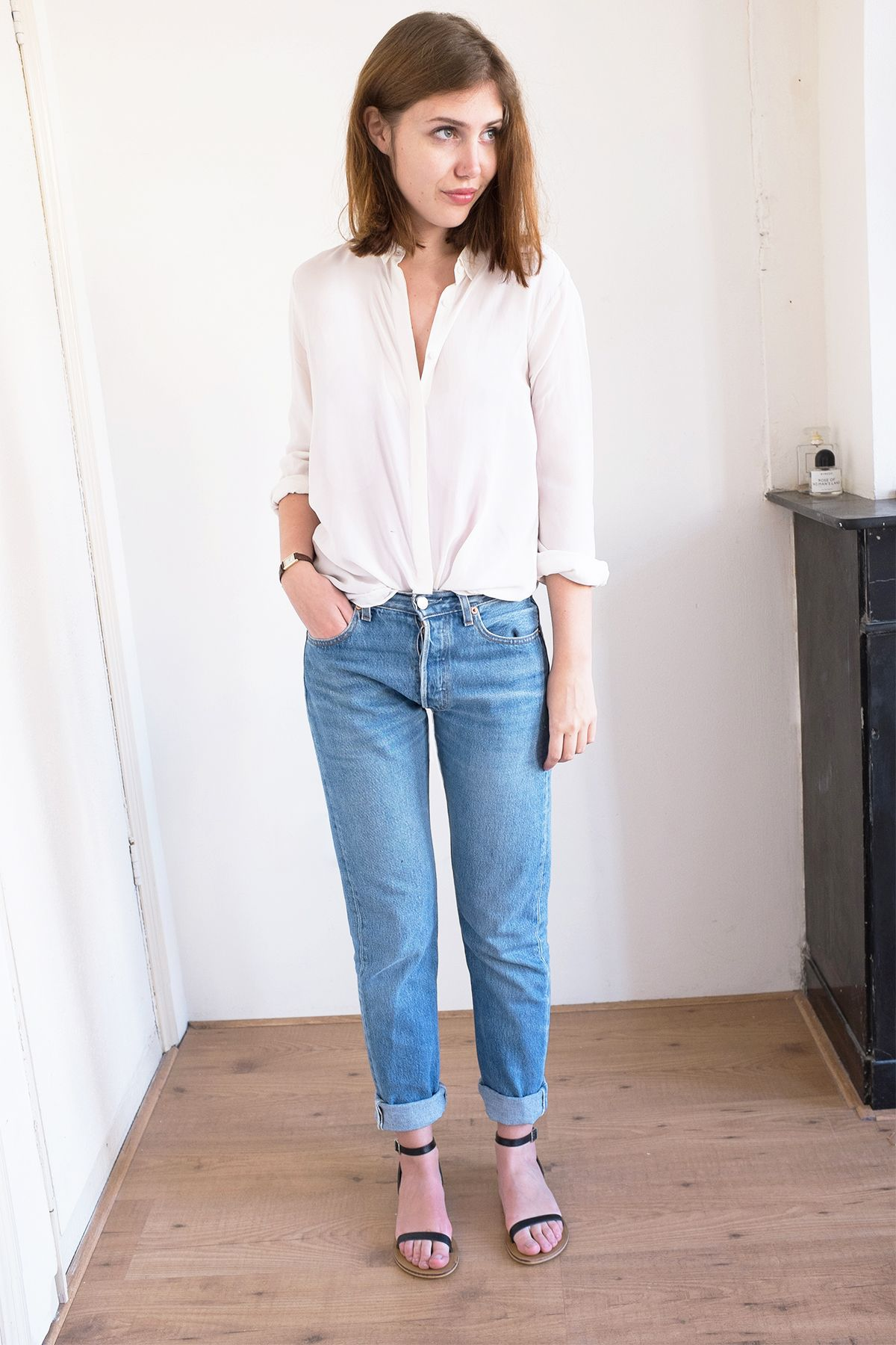 8b11ffad Vintage Levis 501 Jeans Outfit (Sartreuse) | Spark Joy! | Jean ...