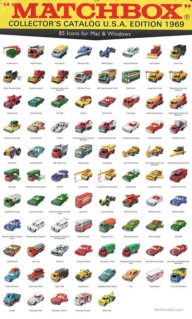 Free icons — 1969 Matchbox Cars | Products I Love | Matchbox cars