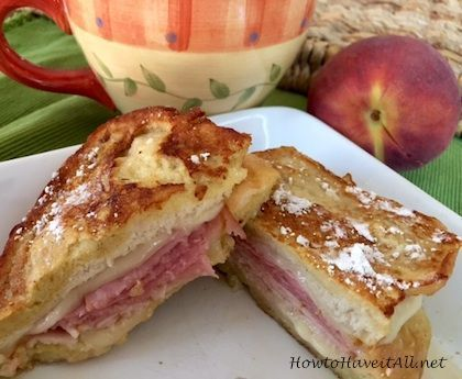 New Recipe Resource + Monte Cristo Sandwich Recipe #montecristosandwich French Bread Mont Cristo Sandwich is the perfect combo of salty sweet! It's a french toast sandwich! #LifesBetterWithTheLion #montecristosandwich New Recipe Resource + Monte Cristo Sandwich Recipe #montecristosandwich French Bread Mont Cristo Sandwich is the perfect combo of salty sweet! It's a french toast sandwich! #LifesBetterWithTheLion #montecristosandwich New Recipe Resource + Monte Cristo Sandwich Recipe #montecristos #montecristosandwich