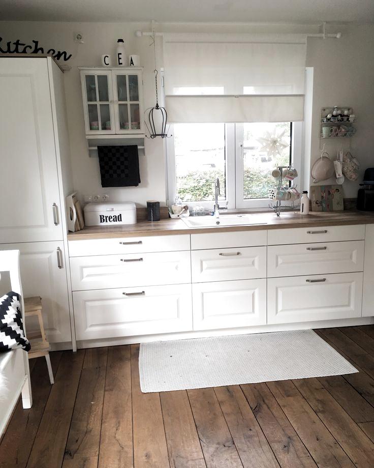 Kitchendreams 10 Fakten Uber Meine Kuche Moderner Landhausstil In 2020 Country House Decor Modern Kitchen Curtains Modern Country Style