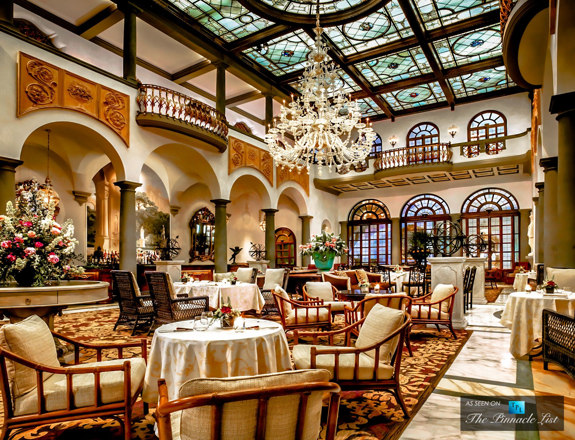 St regis luxury hotel florence italy restaurant for Design hotel florence