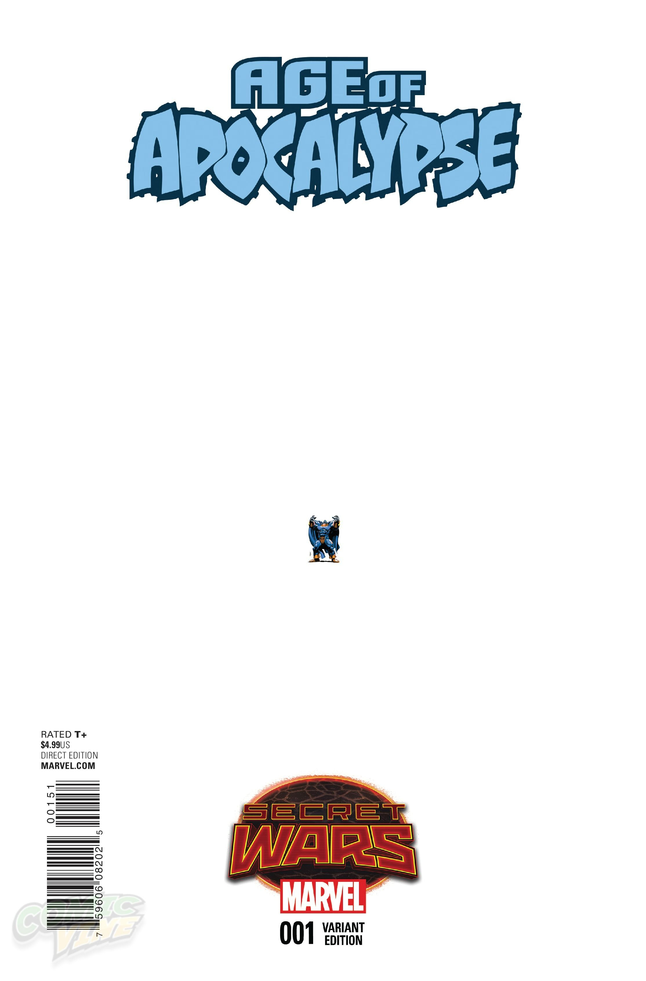AGE OF APOCALYPSE #1 (Ant Cover)