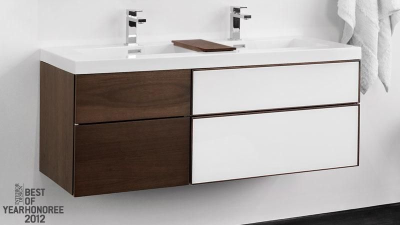 Vanity Frame Collection In Wood Frame And White By Wetstyle