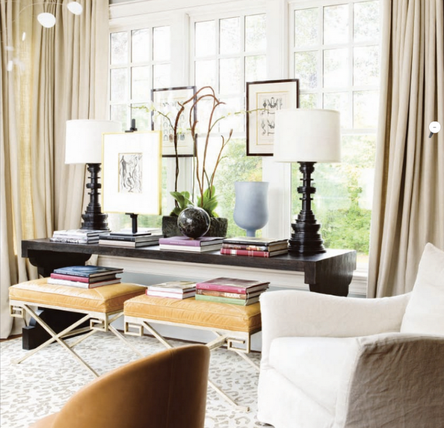 love the x stools-living room in front of our big window? | Design ...