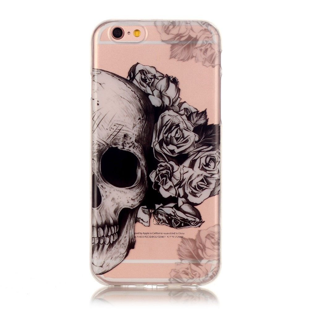 coque tete de mort iphone 7 fille