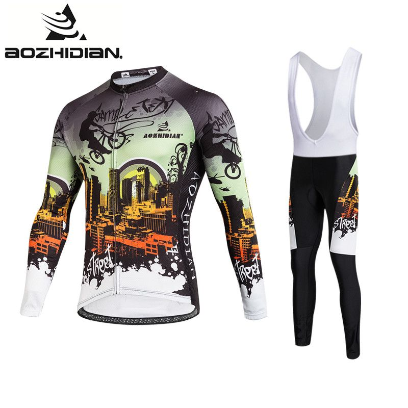 2017 AZD108 Retro Cycling Jersey Men Pro Team Clothing Maillot Ropa  Ciclismo Long Sleeve Funny Specialized Custom Cycling Jersey a4b2d86eb