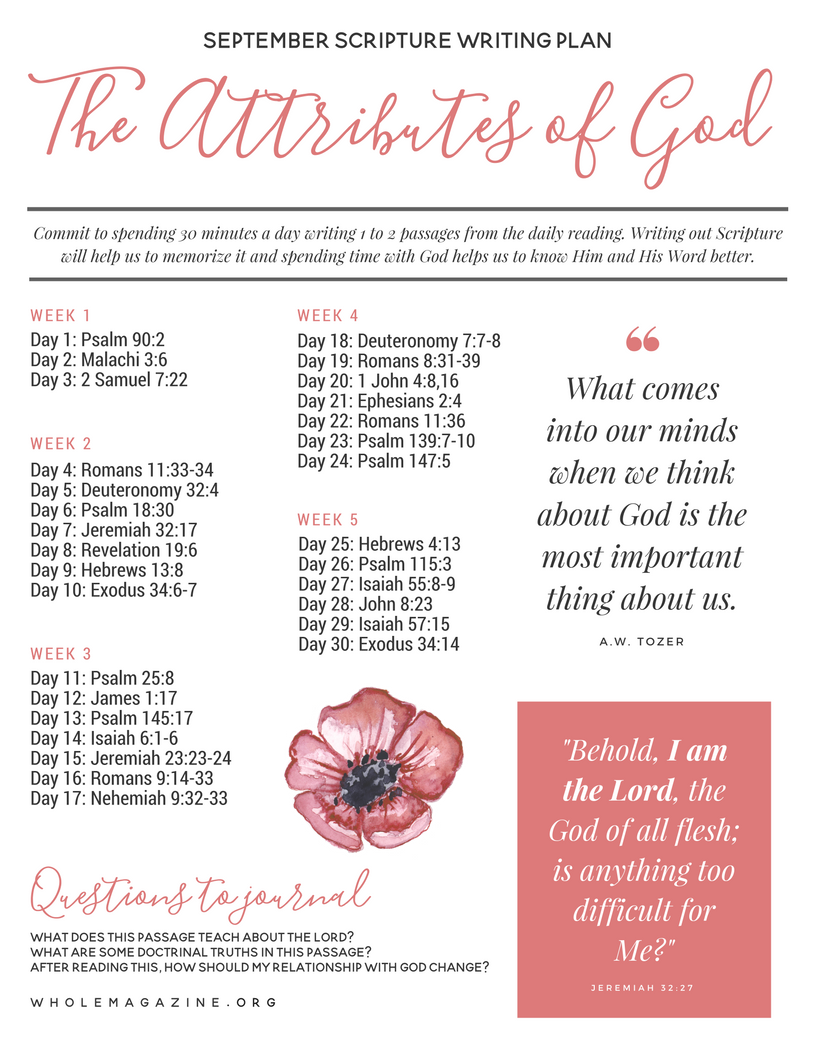 Get PDF The Attributes of God - with study questions