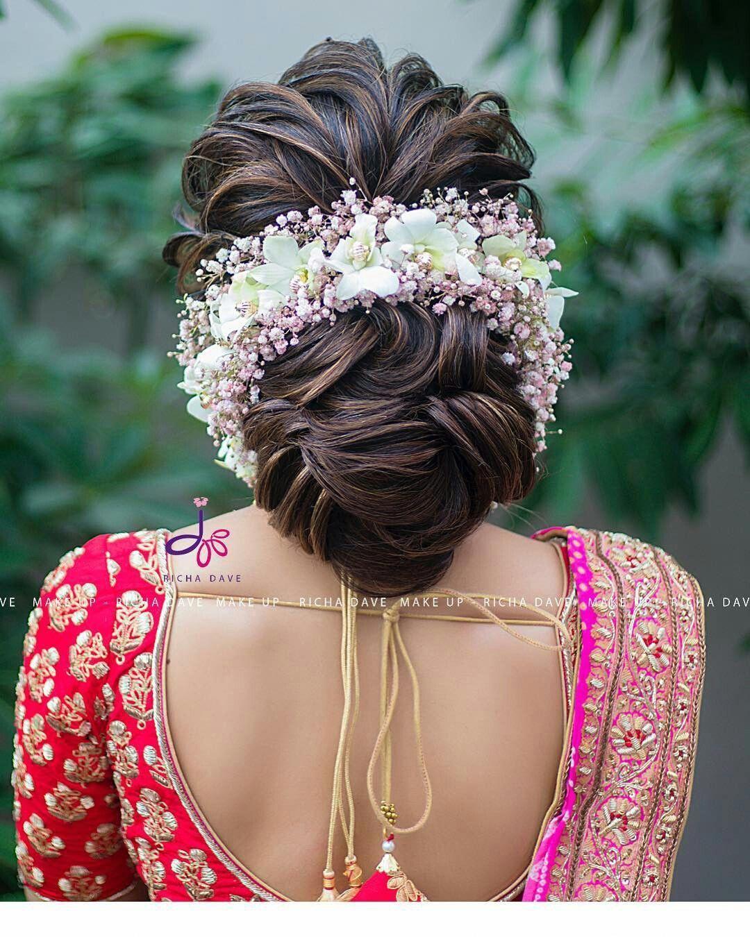 80 wedding hairstyle for medium long hair | bridal hair buns