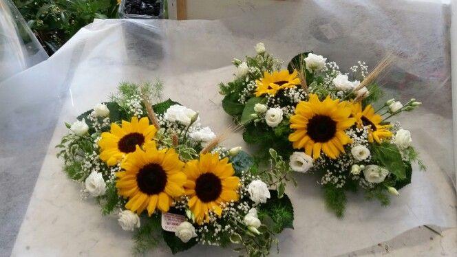 Matrimonio Girasoli E Spighe : Girasoli e spighe di grano centrotavola pinterest