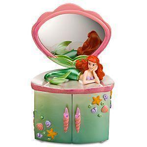 Disney Little Mermaid Ariel Jewelry Box 2999 Disney Pinterest