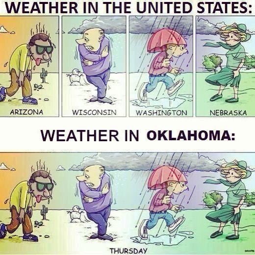 Oklahoma Weather!! Gotta It