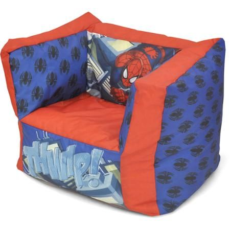 Remarkable Toys Evan Bean Bag Chair Spiderman Superhero Room Pabps2019 Chair Design Images Pabps2019Com