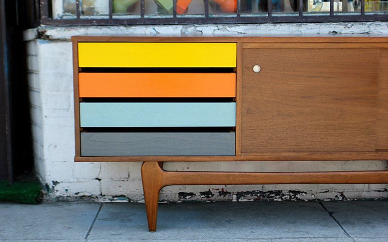 La Credenza Meaning : Where to find beautiful affordable mid century furniture in l.a.