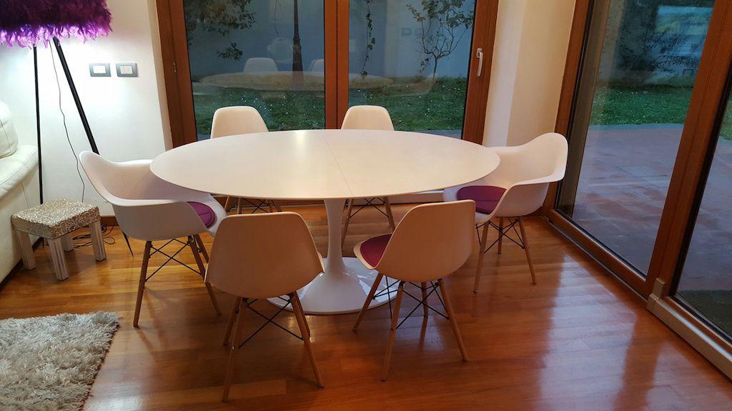 Tavolo Industriale Allungabile : Tavoli allungabili di e saarinen stile industrial chic tavolo