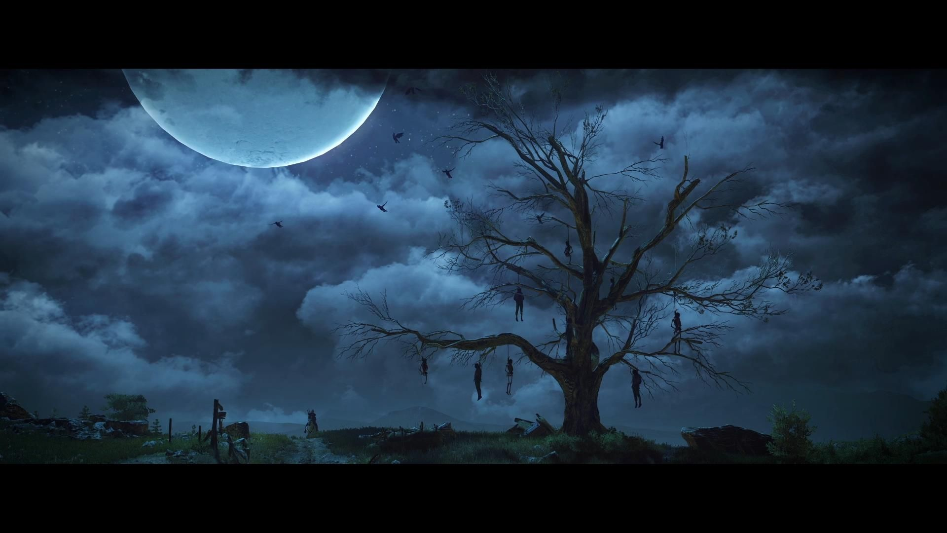Hanged Man's Tree 1920 1080 (With images) The witcher