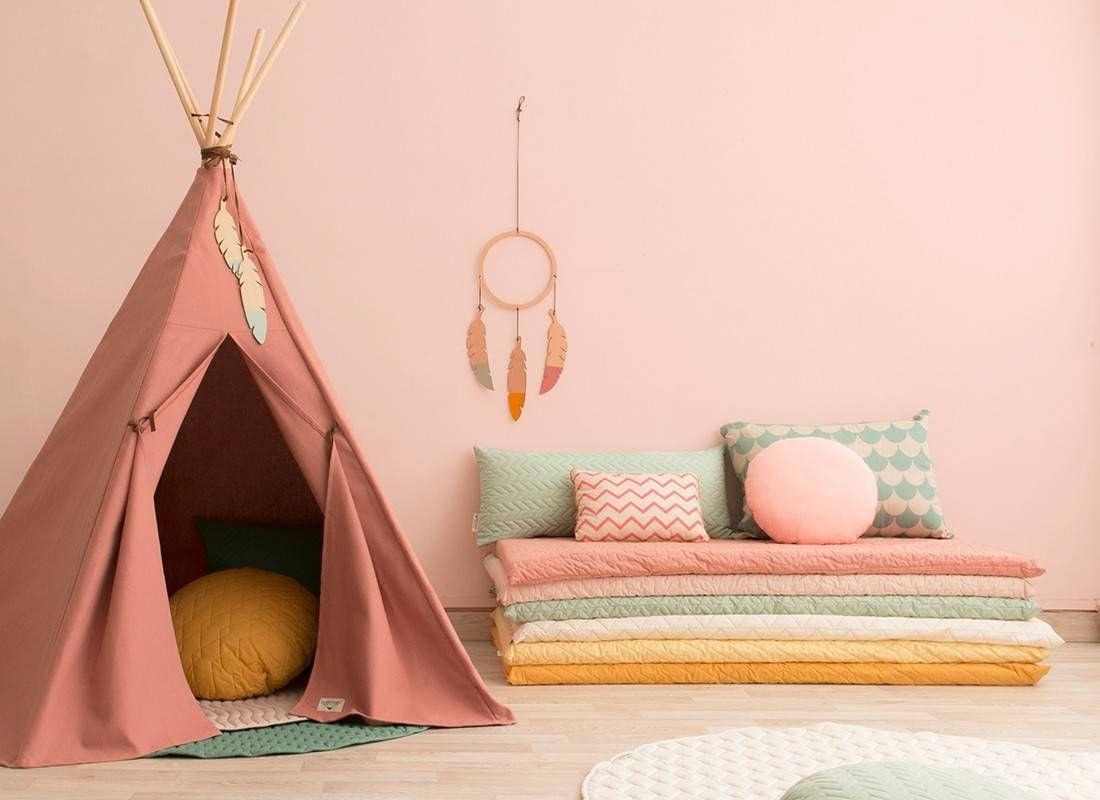 Tente Chambre Garcon pour un tipi nobodinoz pour la chambre d'enfant - blog déco | deco