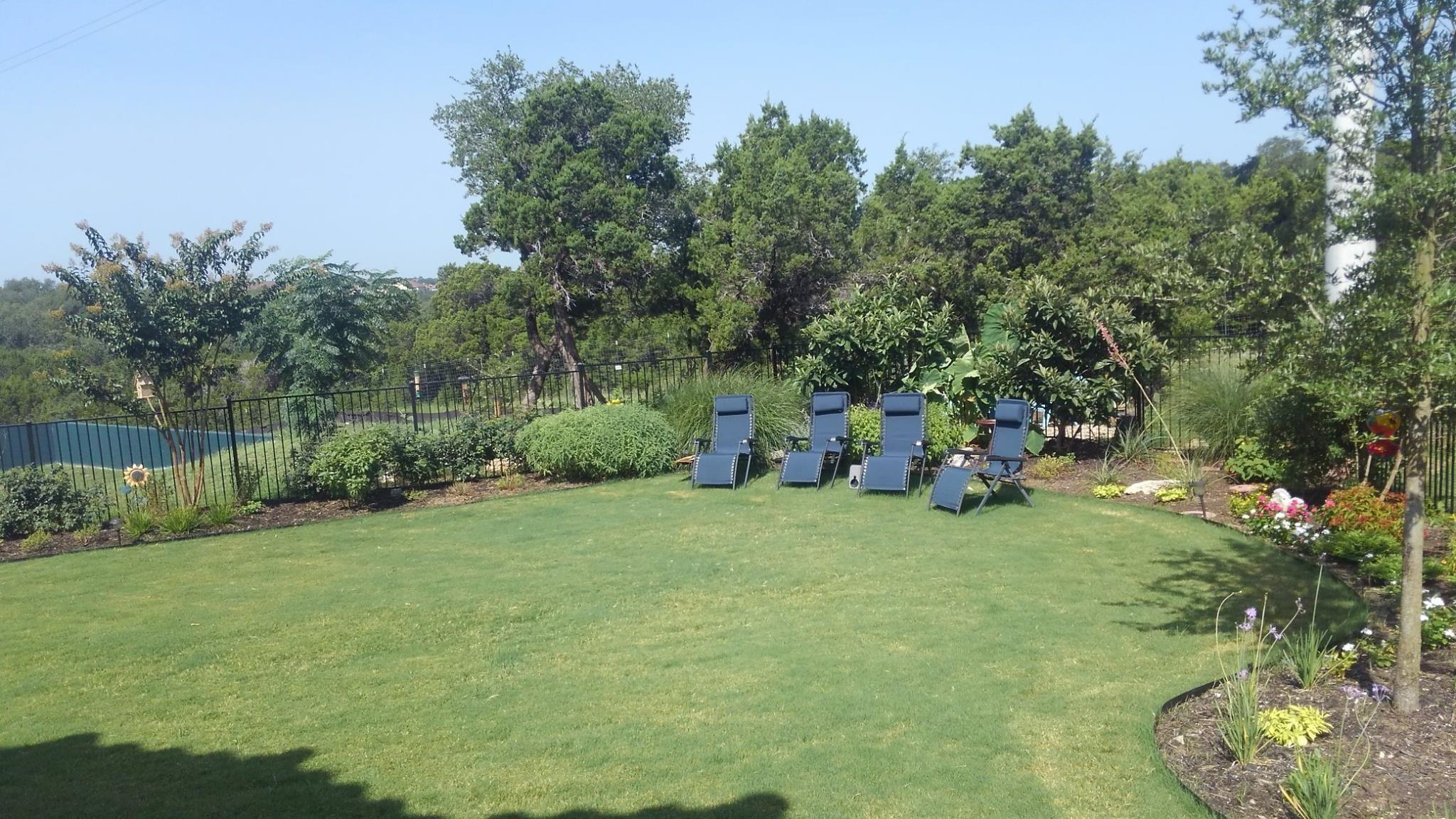 Now thats a pretty lawn good job guys lawncare lawn