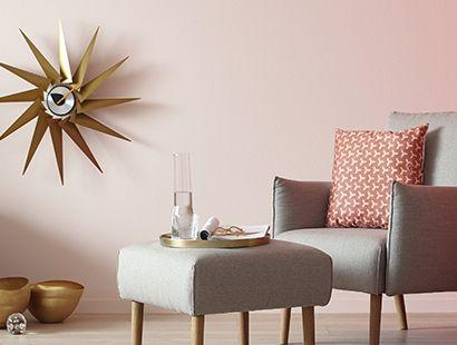 look stilmix scandi trifft eleganz sch ner wohnen wand farbe bilder sch ner wohnen. Black Bedroom Furniture Sets. Home Design Ideas
