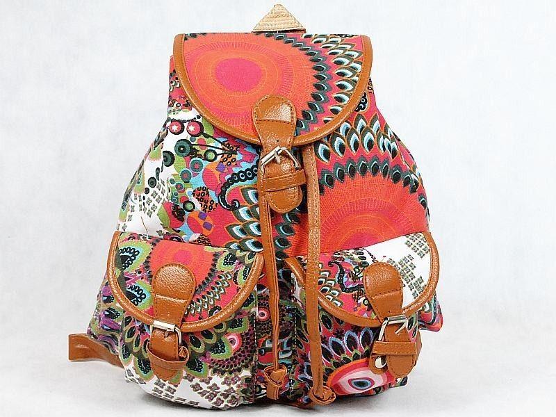 120696323b3ae Plecak VINTAGE AZTEC FOLK INDIANA HIPSTER PLECAKI SZKOLNE