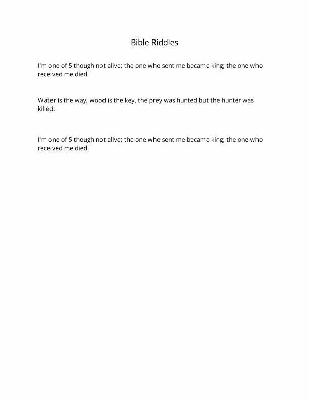 Bible Riddles Jehovah\u0027s Witnesses Pinterest Jehovah s
