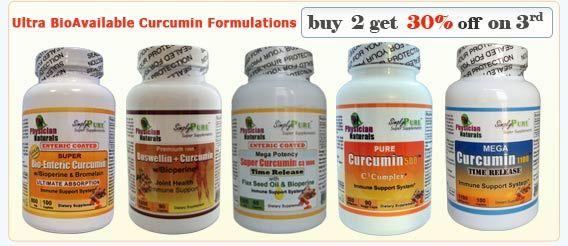 Biggest Holiday Sale! | Save More! -  Curcumin Discount : - Super Bio-Enteric Curcumin - Curcumin + Boswellin - Mega Curcumin 1100 - Mega Potency Super Curcumin