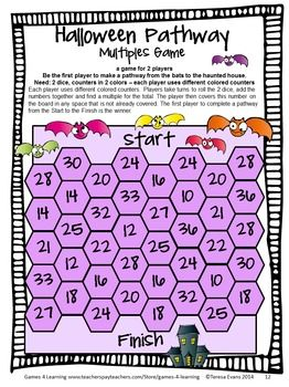 Halloween Math Games Fourth Grade Halloween Math Games Halloween Math Math Games
