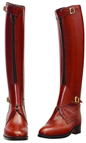women's horse polo equestrian boots | ... -polo-style-tall-