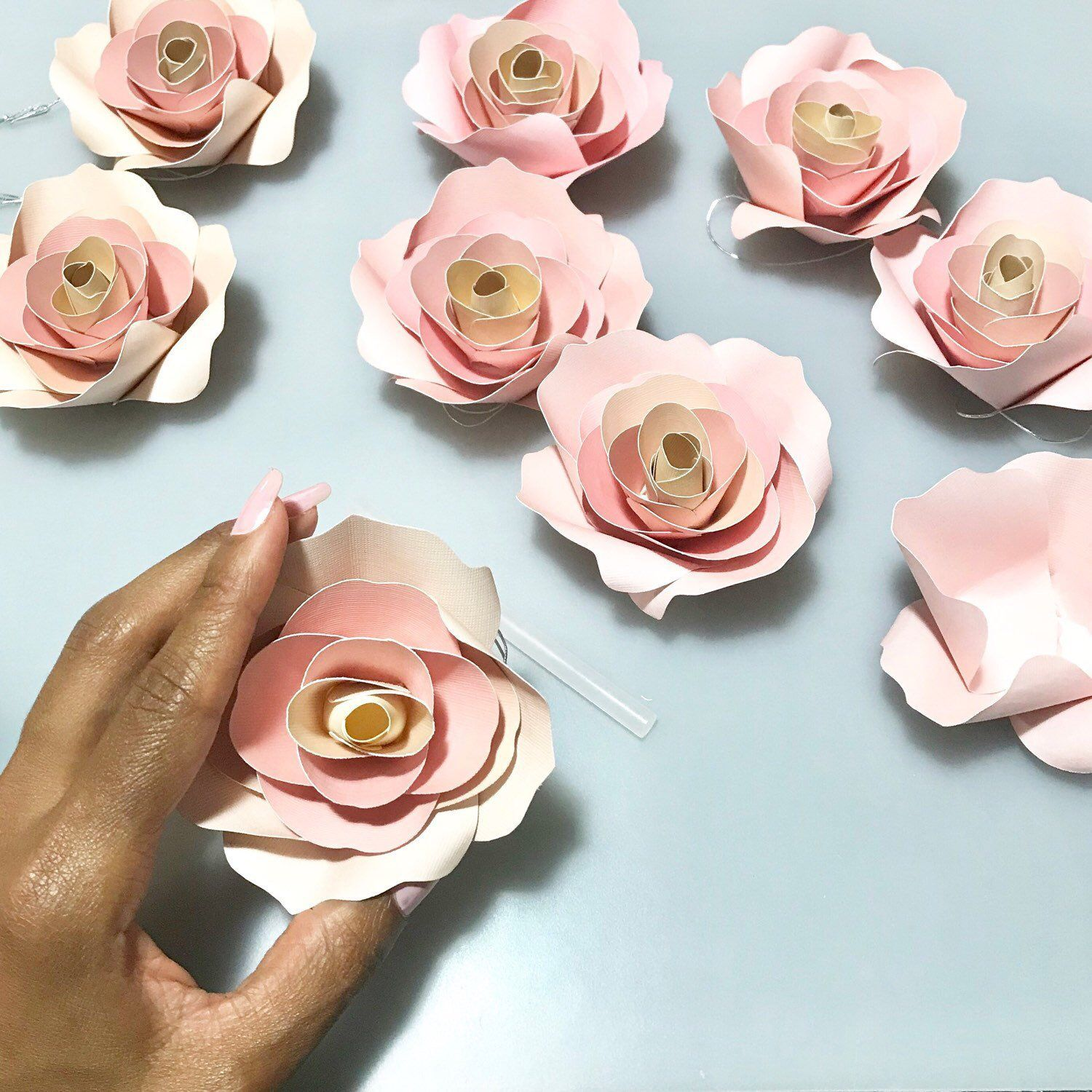 Ladiwithababy Shared A New Photo On Paper Flowers And Gorgeous