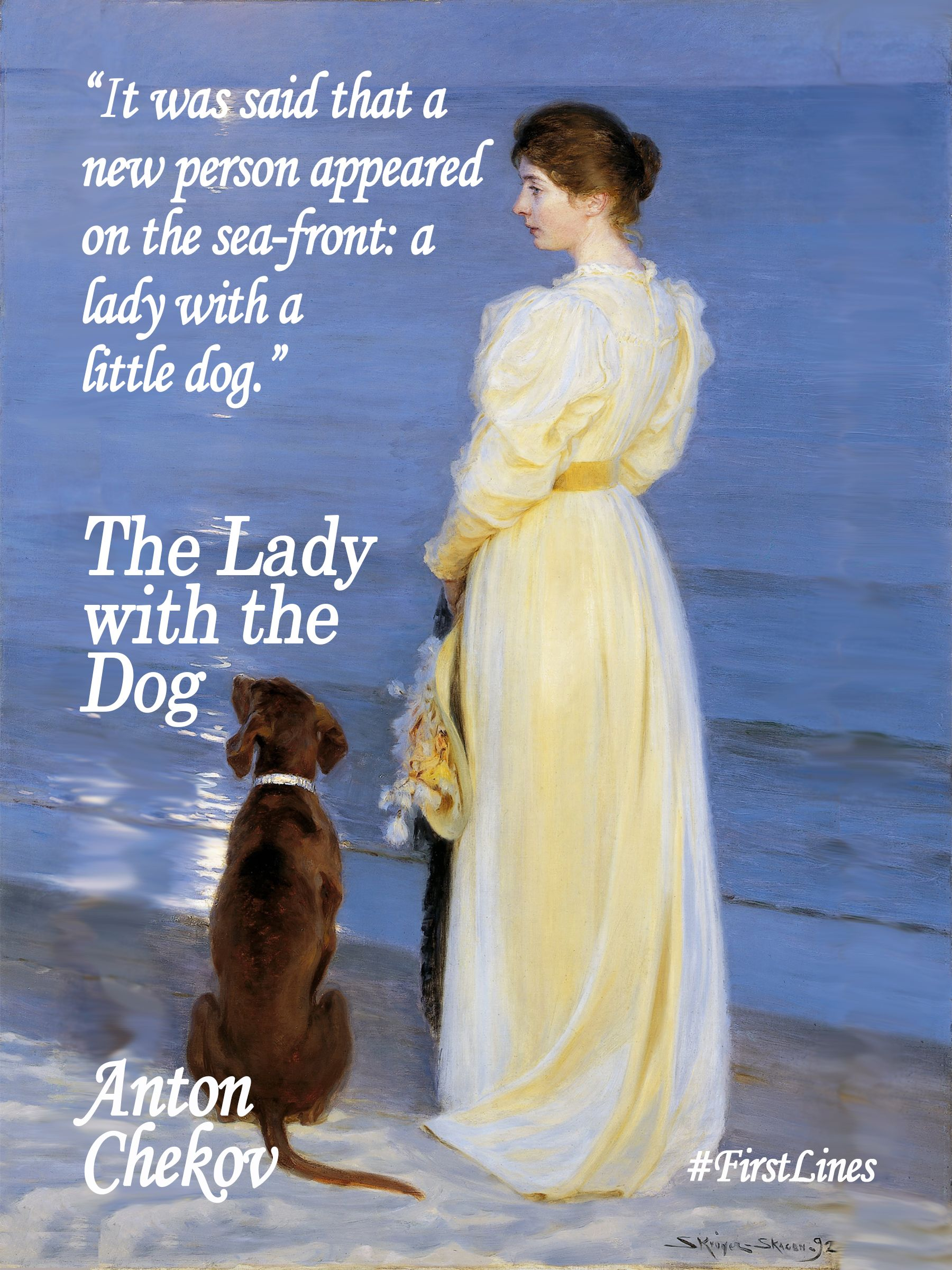 It was said that a new person appeared on the sea front a lady it was said that a new person appeared on the sea front a lady with a little dog anton chekhov the lady with the dog buycottarizona