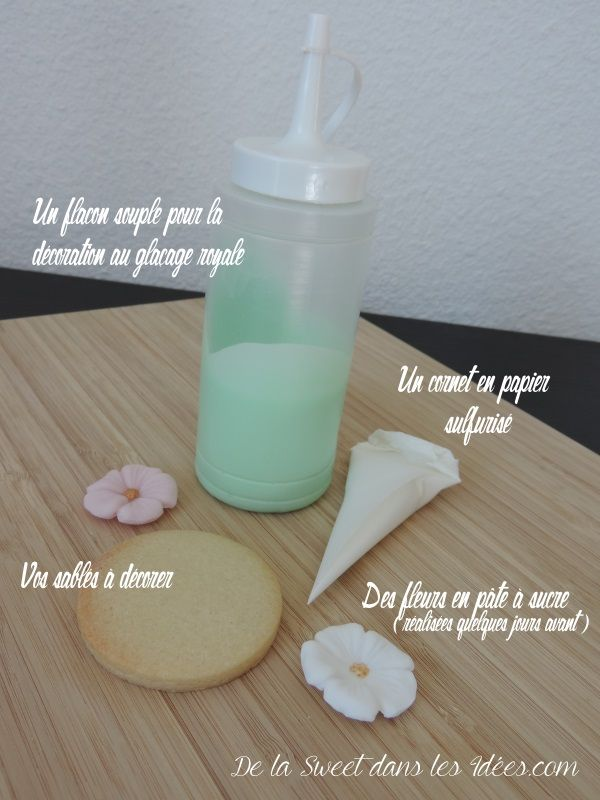 Sables Au Glacage Royal Le Tuto Miam Miam Technique Deco