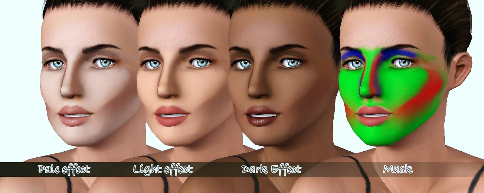 My Sims 3 Blog: Full Face Contouring Blush by Cleos