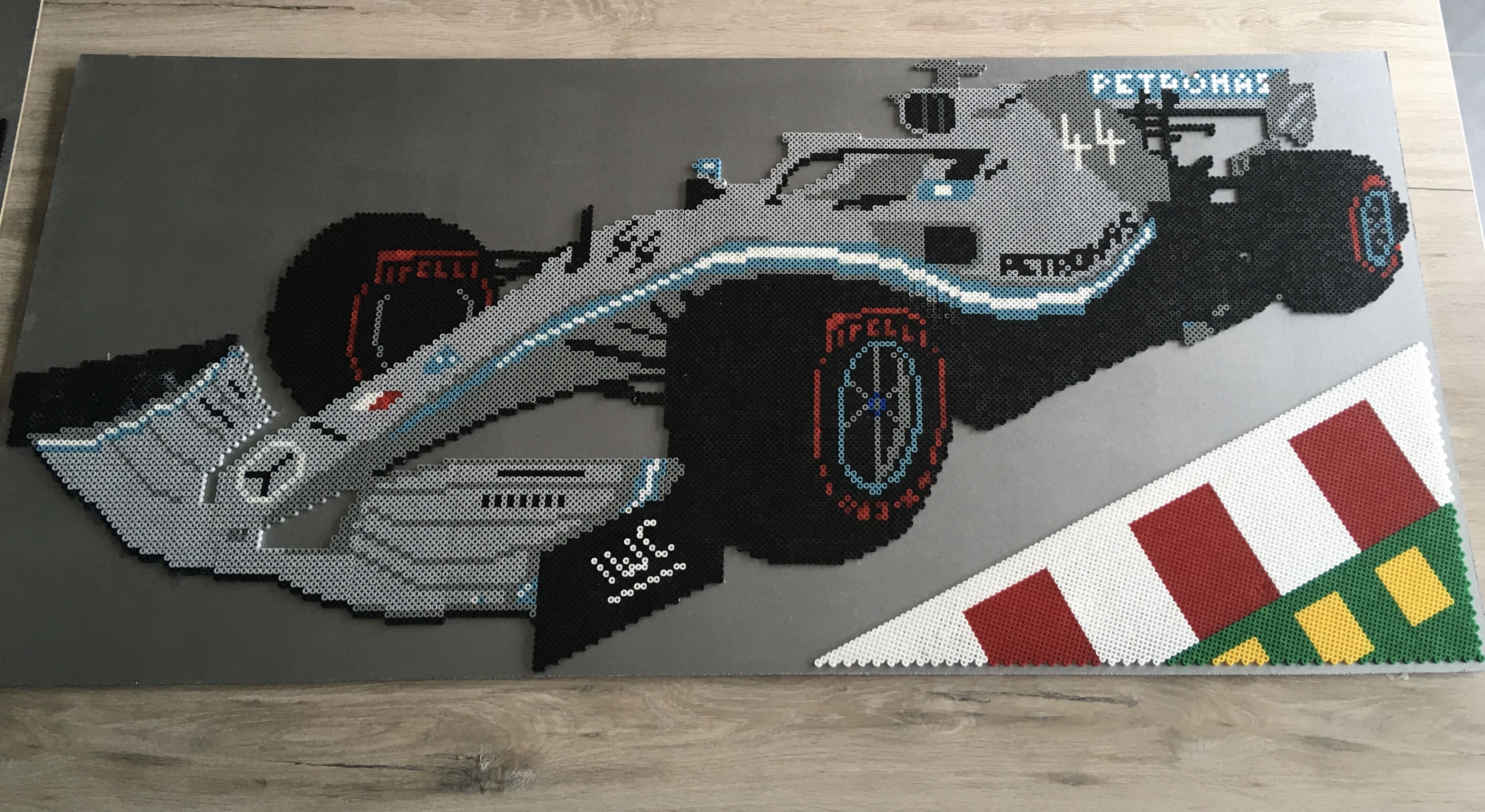 Formule 1 Auto Strijkkralen Mercedes Mercedes Auto Formule 1