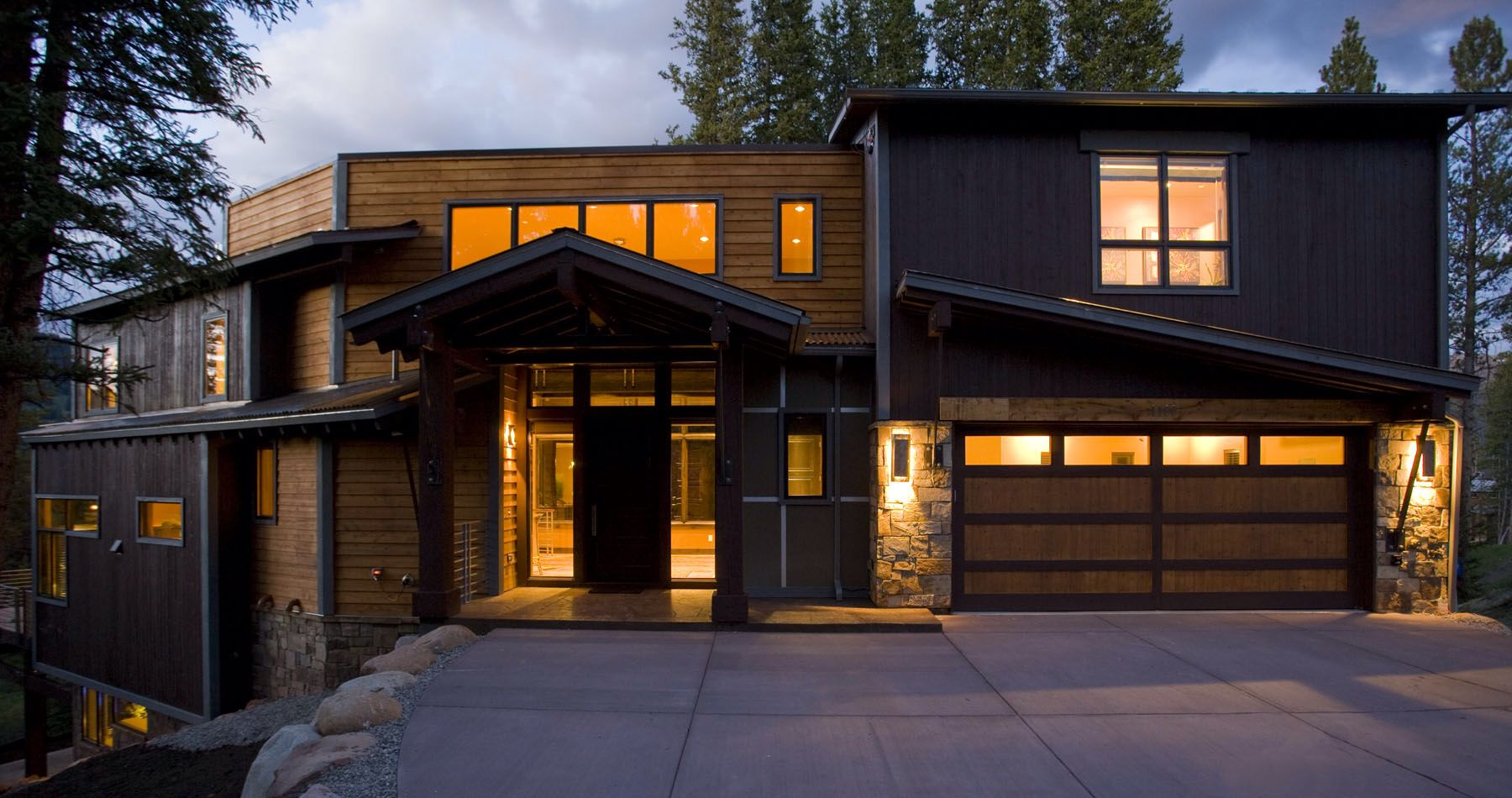 Mountain Living Magazine's BEST of the Summit County Parade of Homes. Mountain Modern. Exclusively by GC Luxury Homes