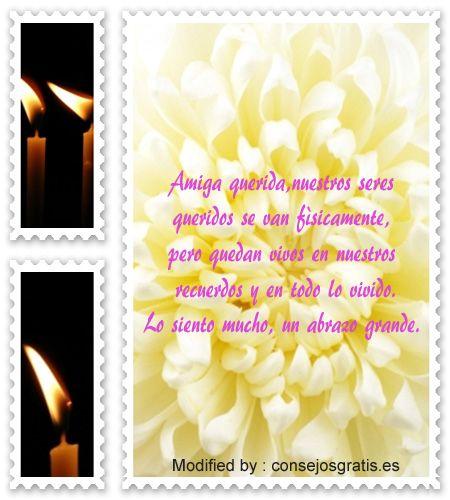 Frases De Condolencias Por Fallecimiento De Una Madrefrases