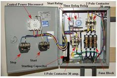 How To Build An Auto Start Rotary Three Phase Converter Electrical Projects Electrical Shop Electrical Wiring