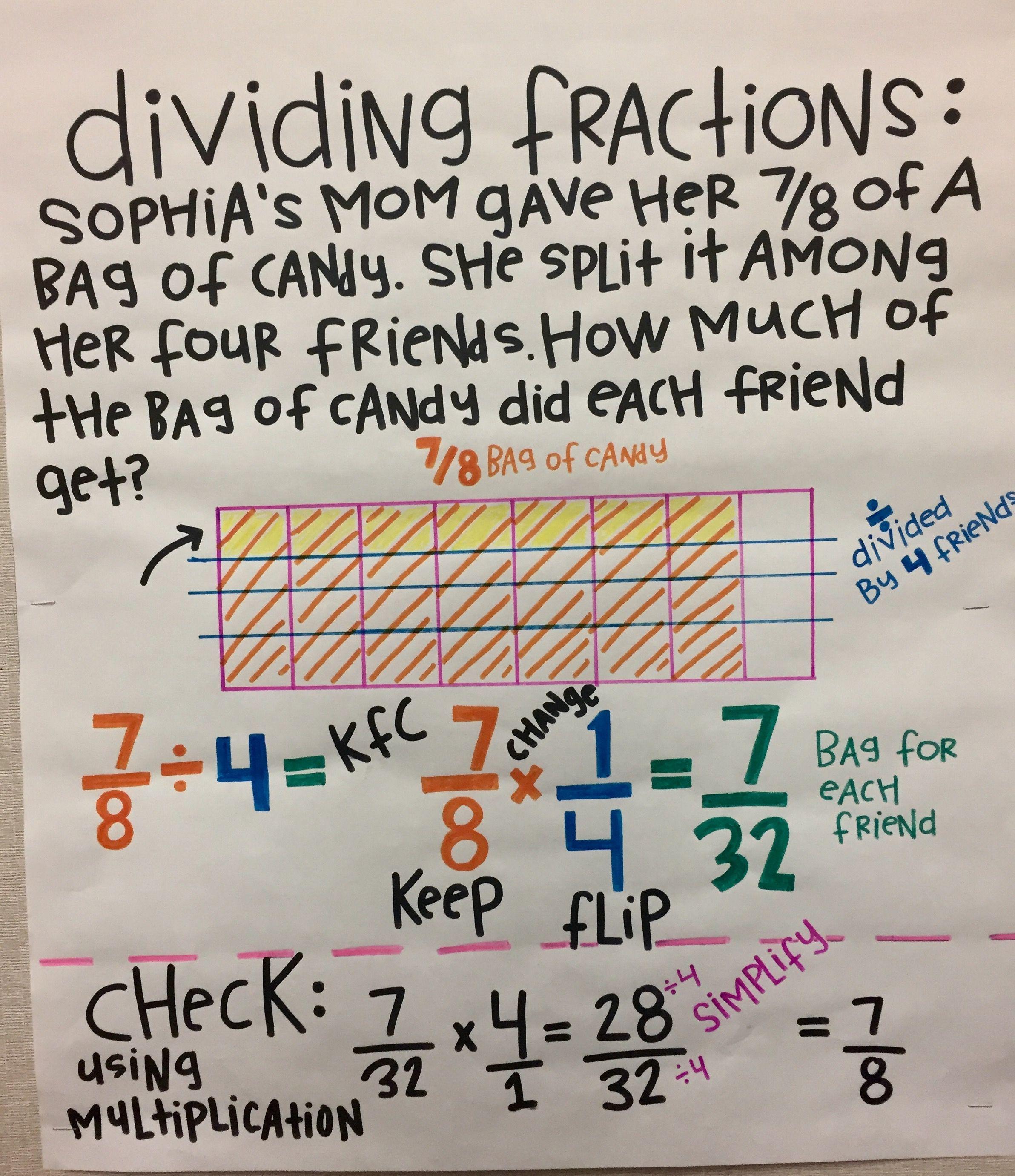 Dividing Fractions Word Problem