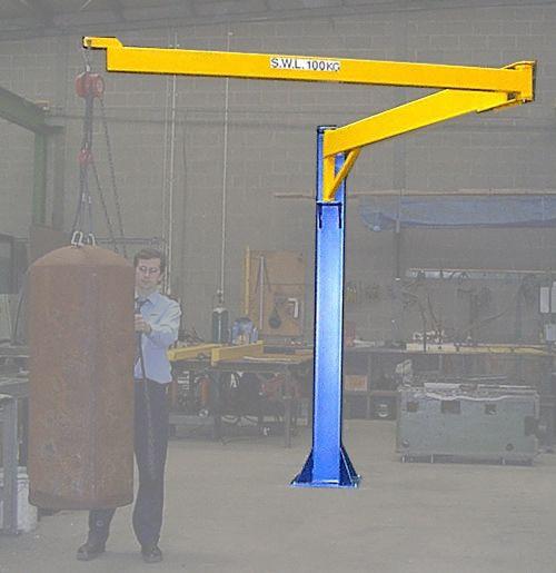 articulated jib crane show pinterest shop ideas