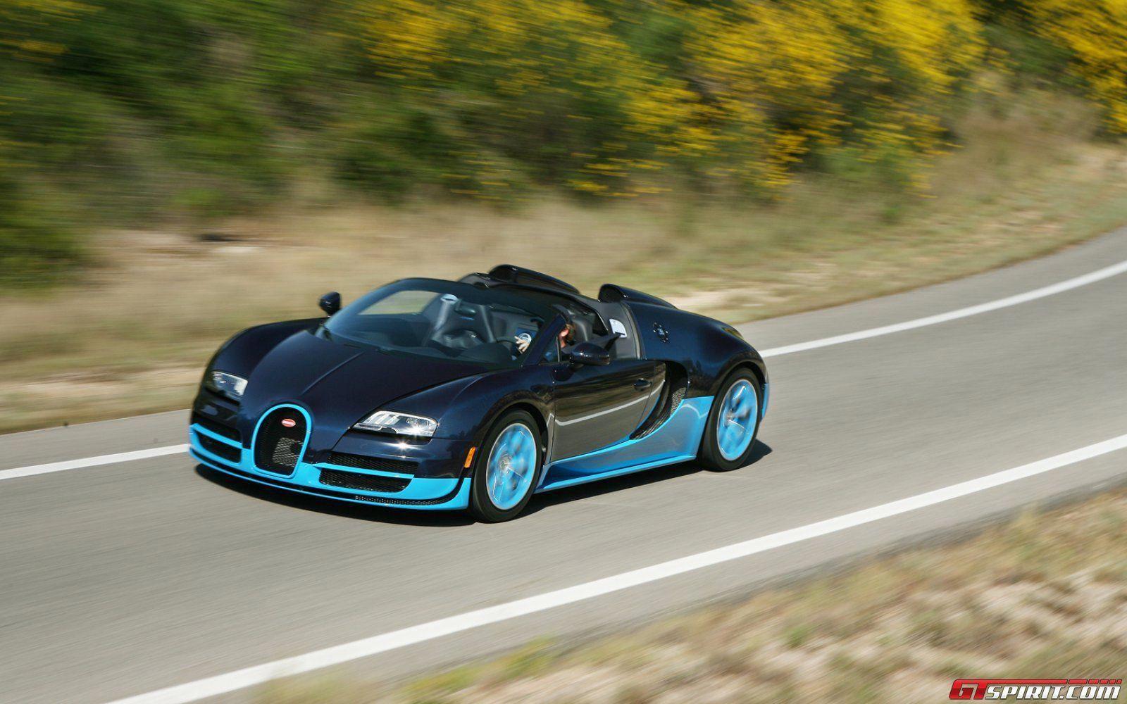 Bugatti Veyron Grand Sport Vitesse Black Bess Interior